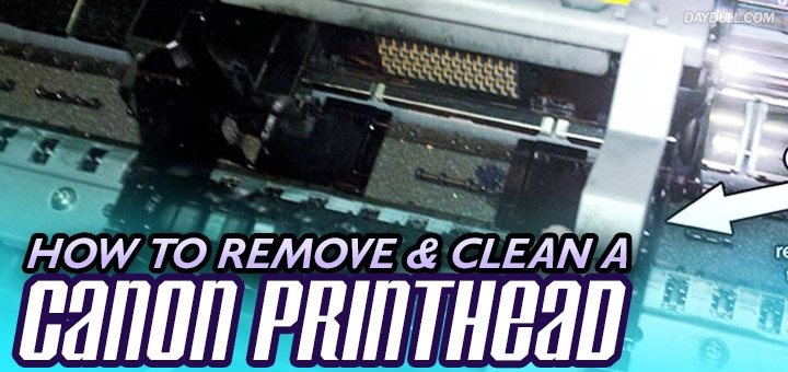 How to Remove a Canon Printhead (Step by Step With Photos