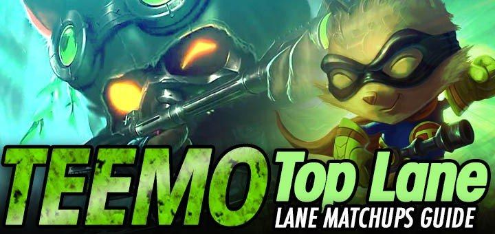 Teemo Top Lane Matchups: Laning Strategy Comprehensive Guide (Season